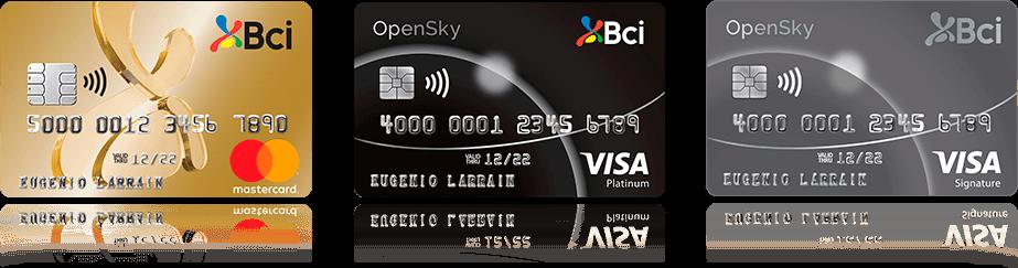 Tarjetas de Crédito Bci